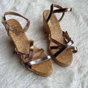 Michael Kors Cork Wedge Shoes
